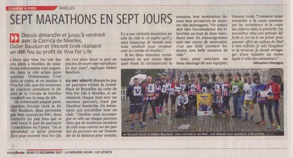 2017.12.21 Les 7 Marathons de Nivelles