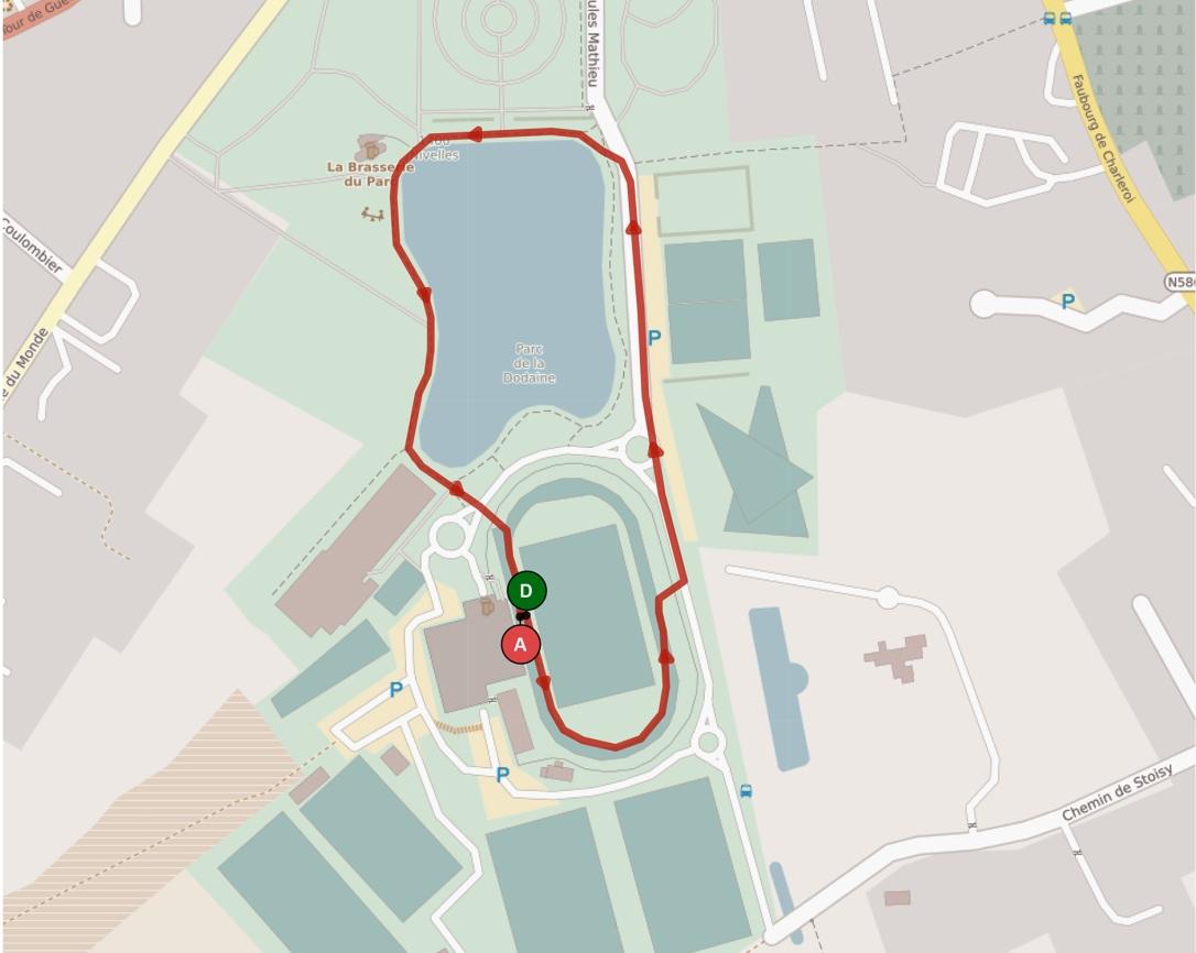 PARCOURS 1 km