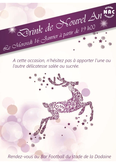 Drink de Nouvel An