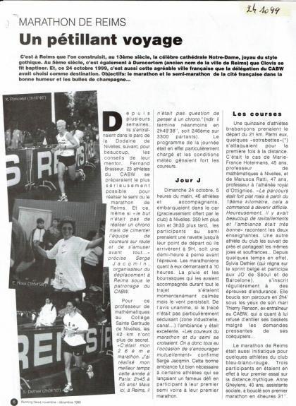 1999 RUNNING NEWS NOV-DEC-1 Part I