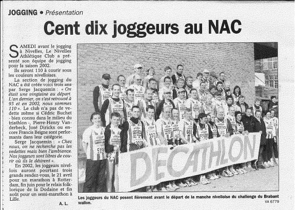 2002.02.26 110 joggeurs au Nac - Vers l'Av