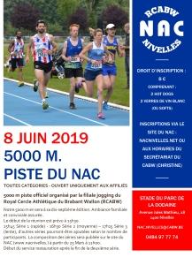 5000 M NAC 2019