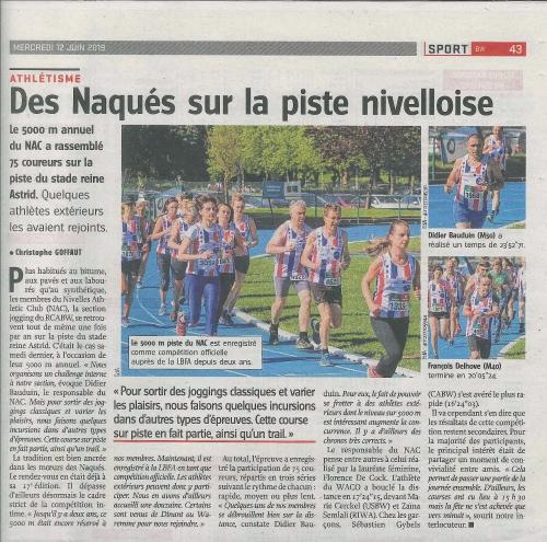 2019.06.12 5000 m du NAC