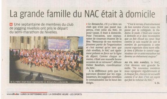 2019.09.16 DH La gde famille du NAC était à domicile