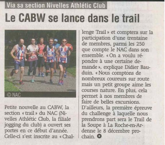 2019.11.29 La Capitale Brabant & Bxl