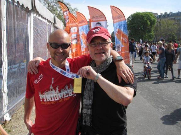 Rodolphe au Marathon de Paris 2012 2 h 47