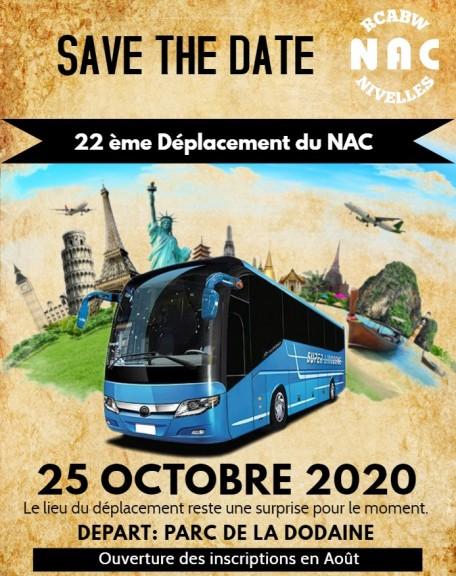 DEPLACEMENT NAC 2020